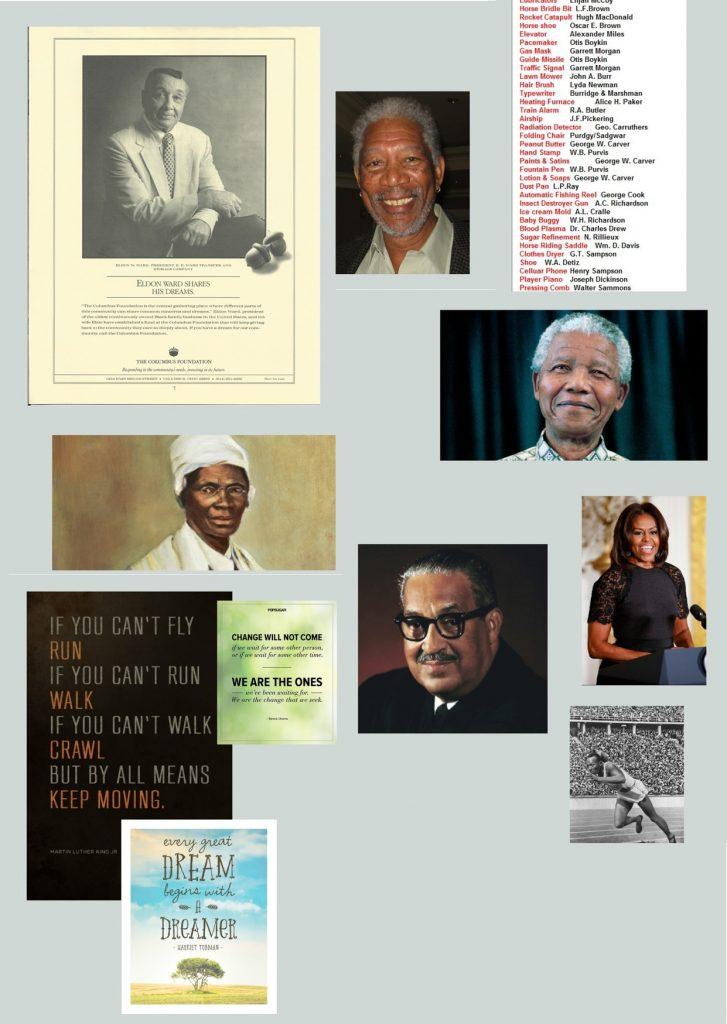 Celebrating Black History Month at E.E. Ward: Culture Contribution
