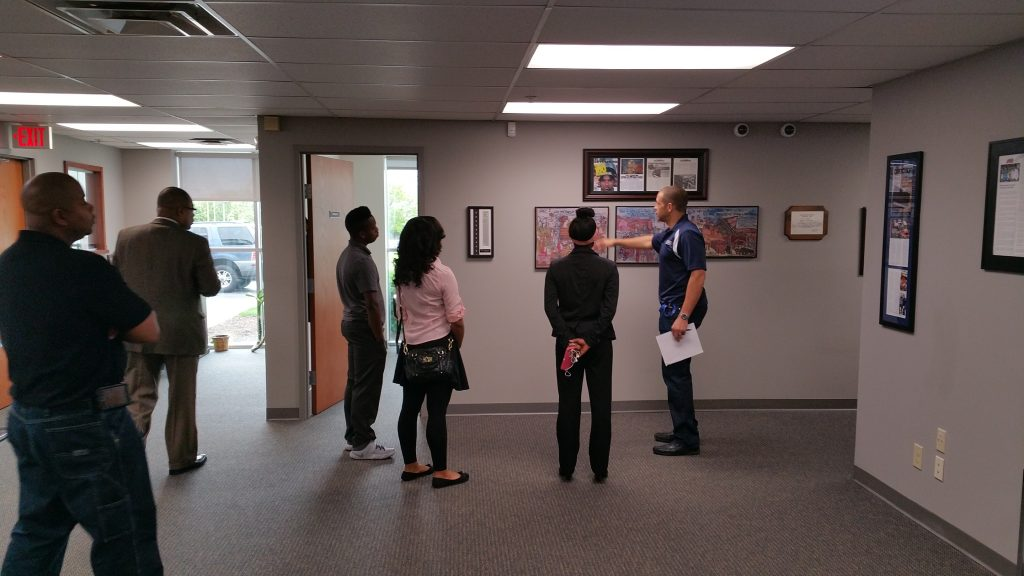 The Youth Entrepreneurship Institute Visits E.E. Ward