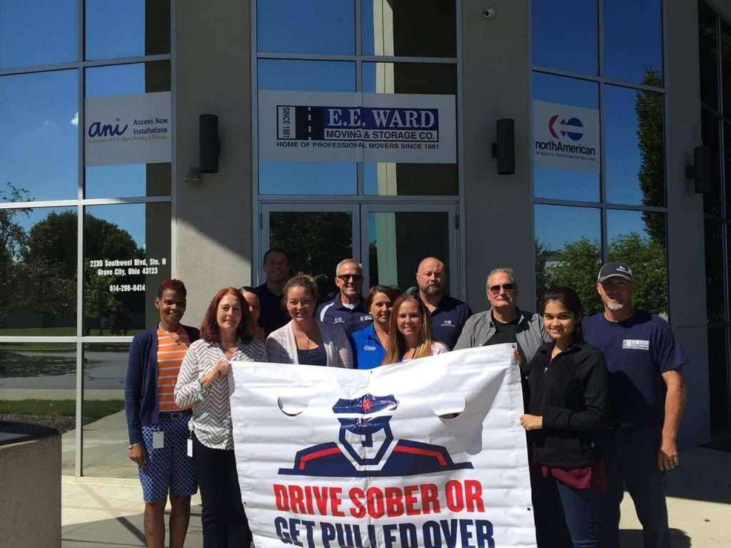 E.E. Ward Supports Drive Sober or Get Pulled Over