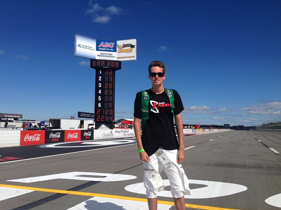 Columbus Moving Company Sweepstakes Winner Talks About His Experience at Pocono Raceway!