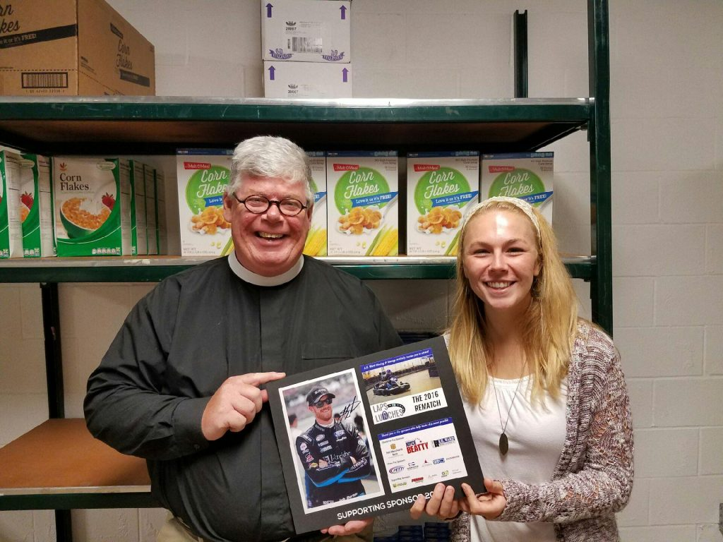 Laps for Lunches Donations: St. Philip's Food Pantry