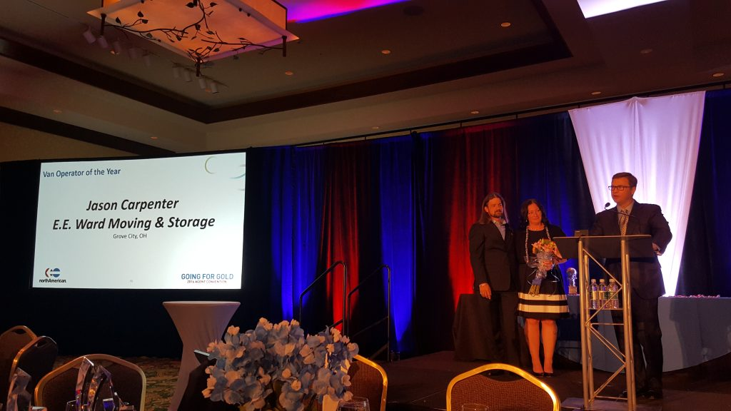 Columbus Moving Company Driver Recognized at NAVL Convention