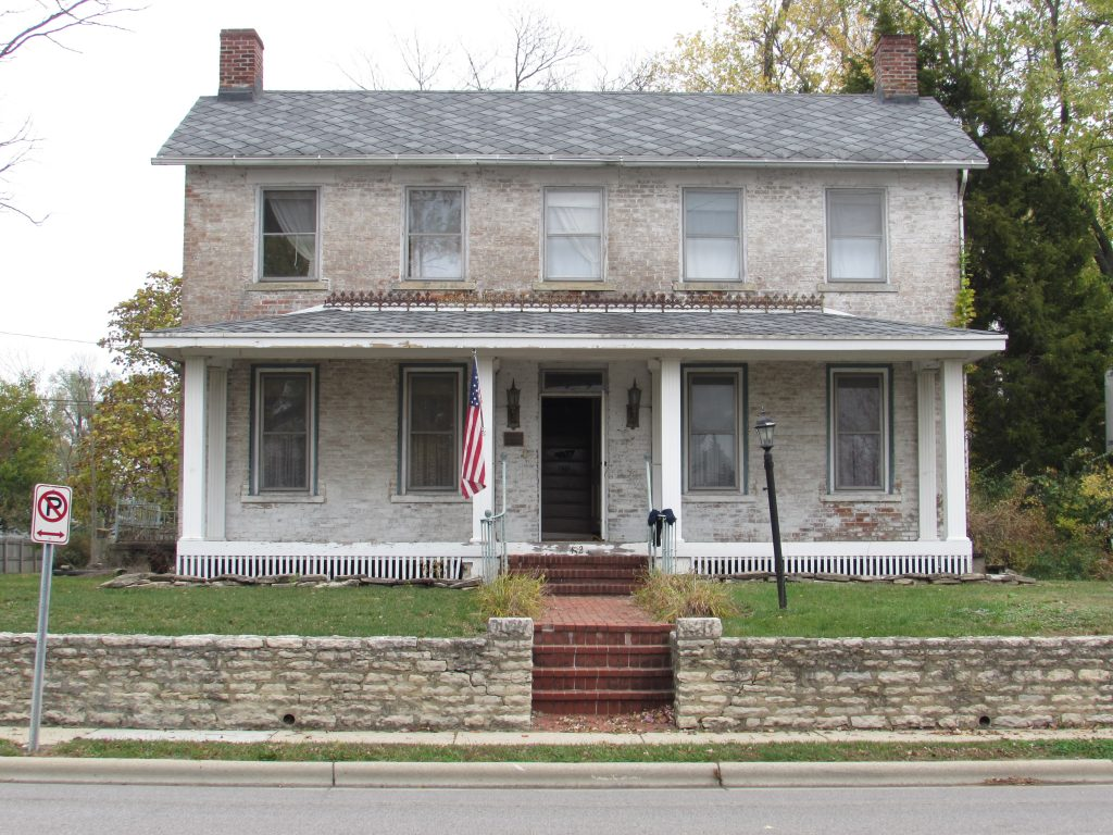 Columbus Moving Company Moves the Oldest House in Grove City
