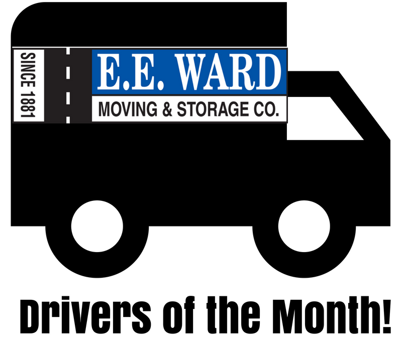 E.E. Ward Columbus Movers July Intercontinental Driver of The Month