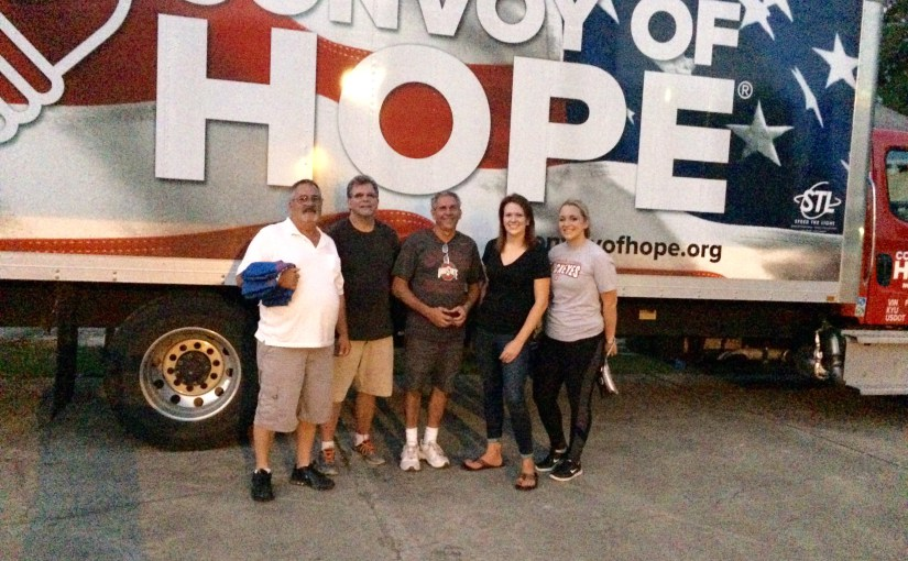 Shanna Volunteers For Hurricane Harvey Relief: Part 1