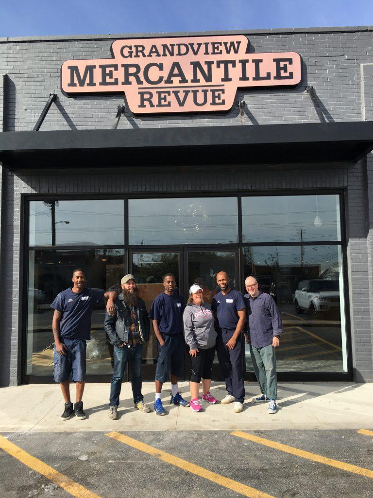 Grandview Mercantile: Signs up & doors open!