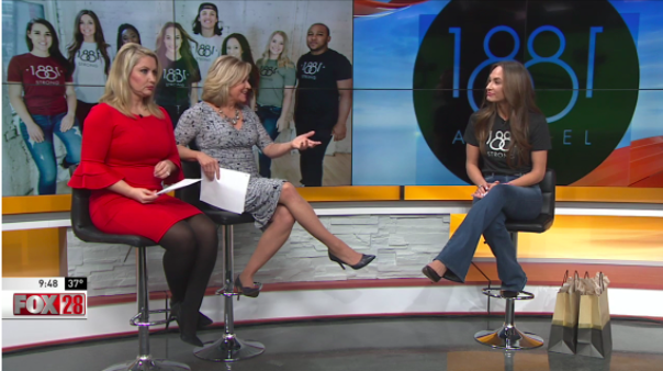 Flashback Friday- 1881 Apparel Featured on Good Day Columbus