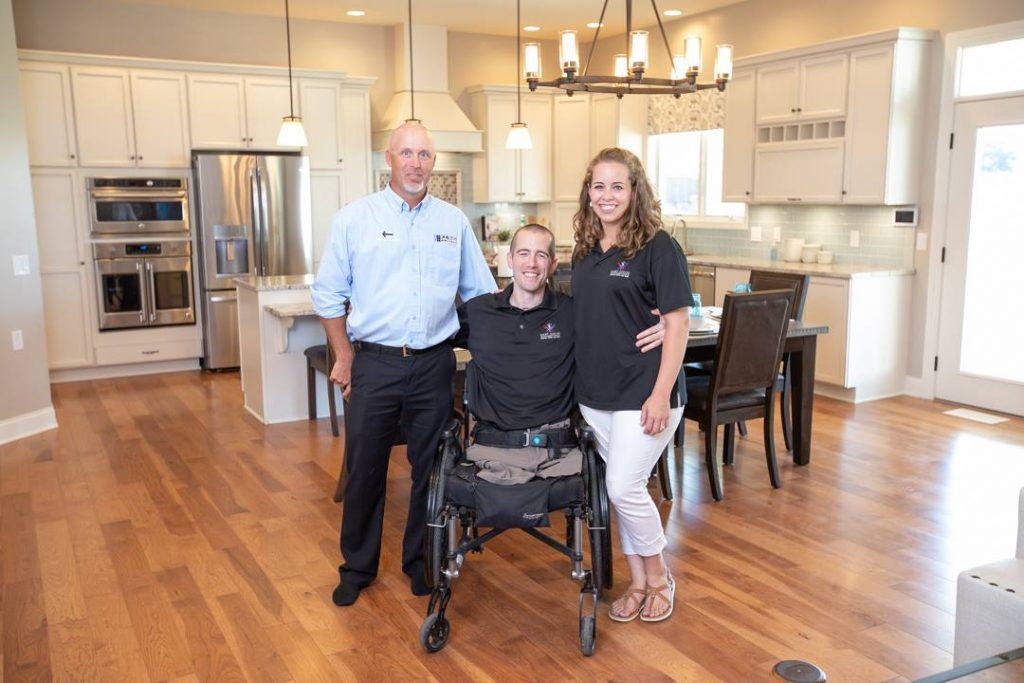 Columbus Mover Attends Nick Vogt's Home Dedication Ceremony