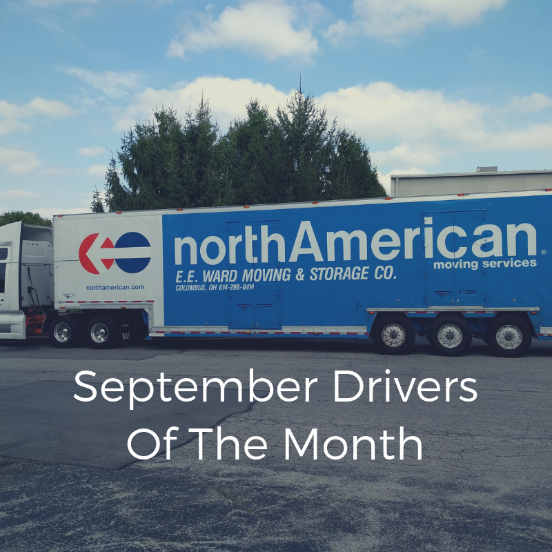 September Drivers of the Month